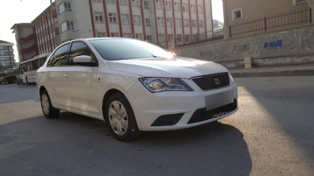 SEAT Toledo 2013 Model Dizel Manuel Vites Kiralik Araç - 02F1