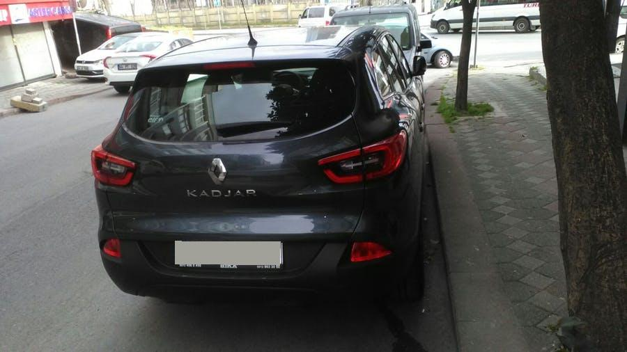 RENAULT Kadjar 2017 Model Benzin Otomatik Vites Kiralik Araç - 1711