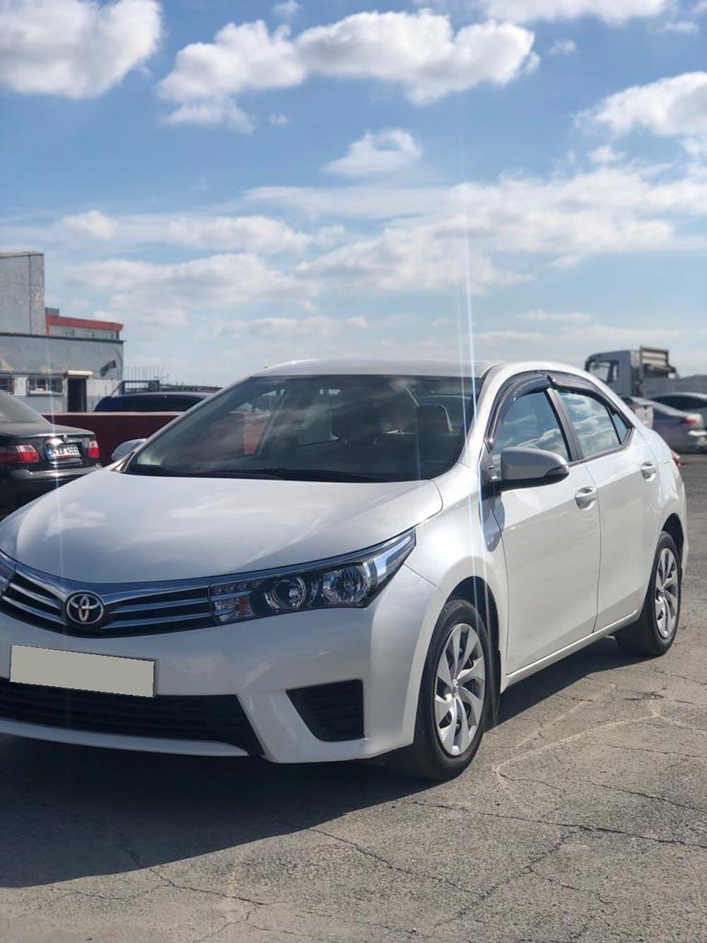 TOYOTA Corolla 2016 Model Benzin Manuel Vites Kiralik Araç - A8C6
