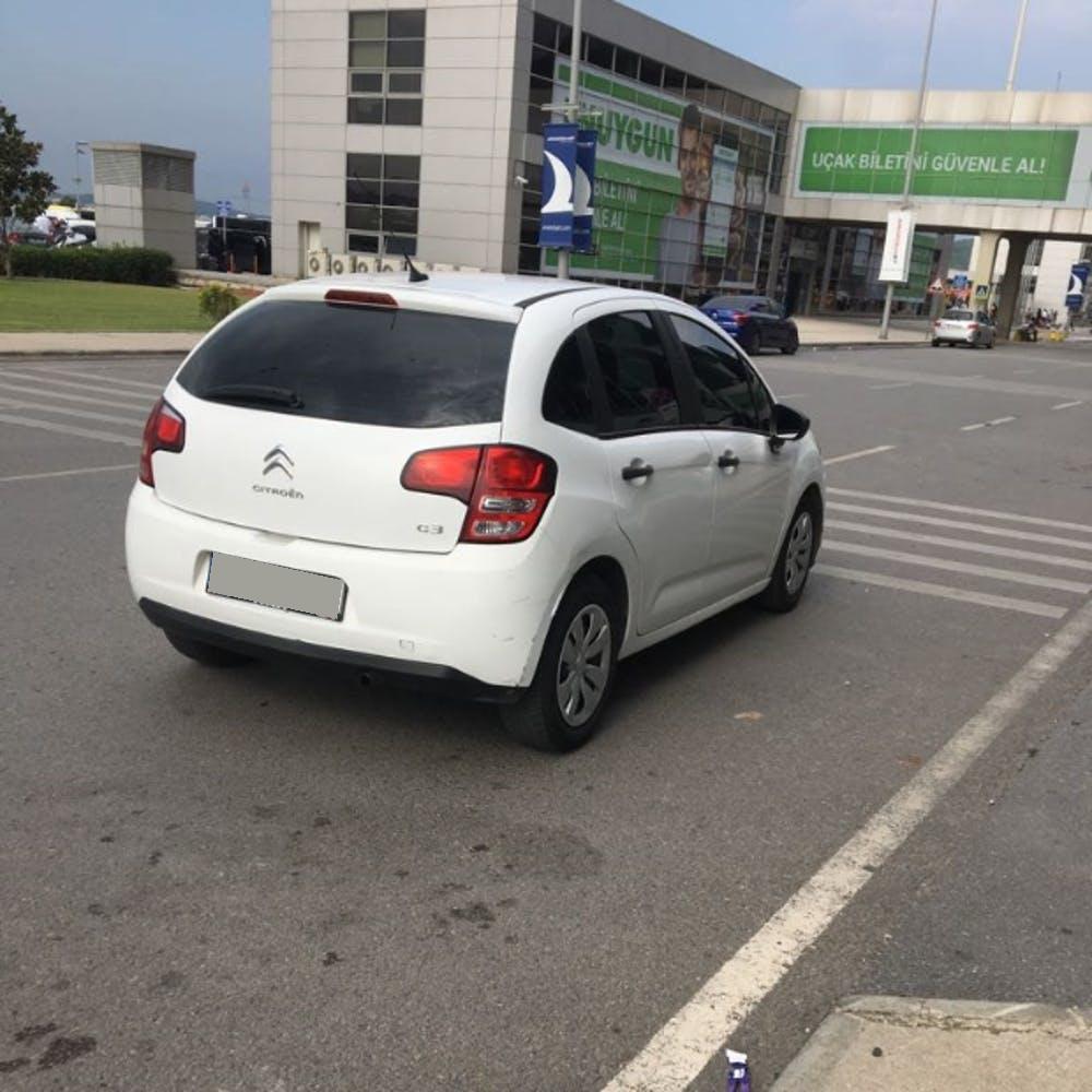 CITROEN C3 2012 Model Dizel Manuel Vites Kiralik Araç - F785