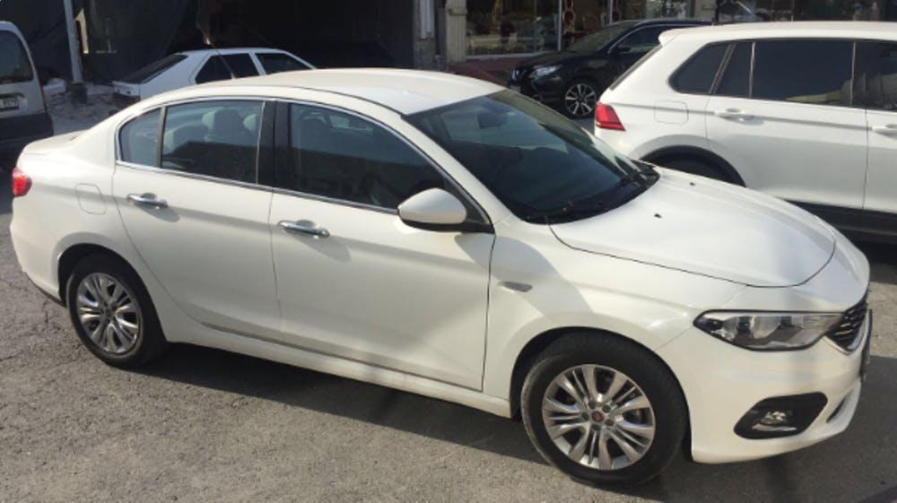 FIAT Egea 2015 Model Dizel Manuel Vites Kiralik Araç - 9BBC