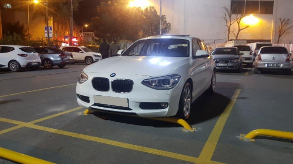 BMW 1 Serisi 2014 Model Benzin Otomatik Vites Kiralik Araç - 388B