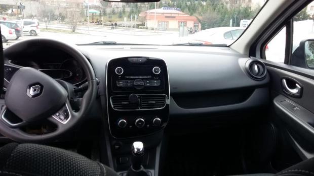 RENAULT Clio 2017 Model Dizel Manuel Vites Kiralik Araç - B6BE