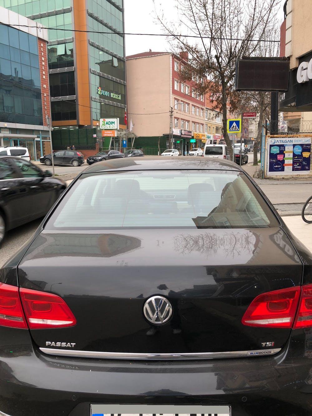 VOLKSWAGEN Passat 2014 Model Benzin Otomatik Vites Kiralik Araç - B912