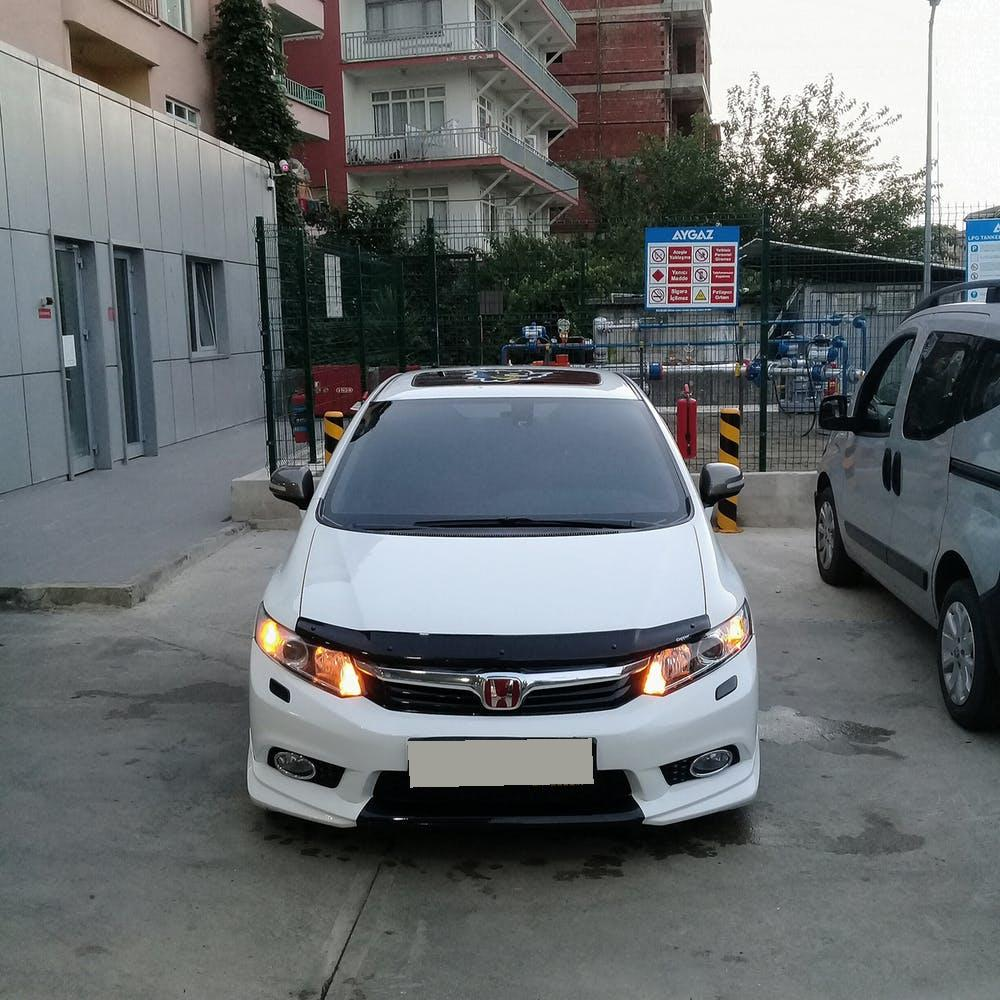 HONDA Civic 2013 Model LPG Otomatik Vites Kiralik Araç - 2ED2