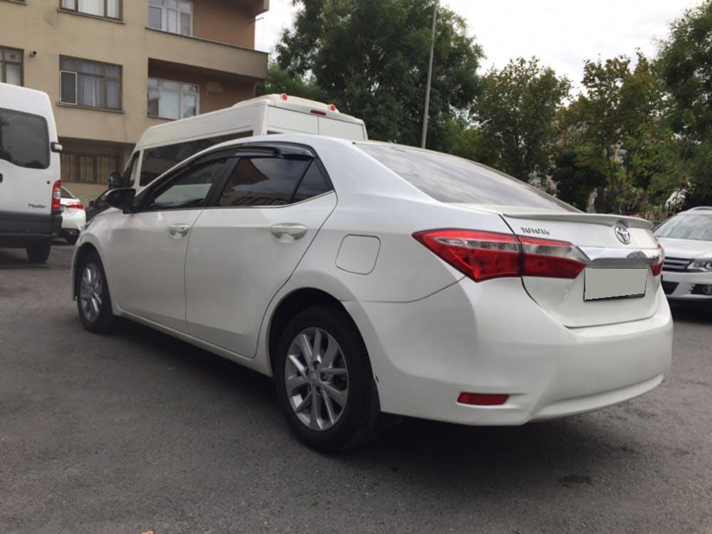 TOYOTA Corolla 2014 Model LPG Manuel Vites Kiralik Araç - 55D2