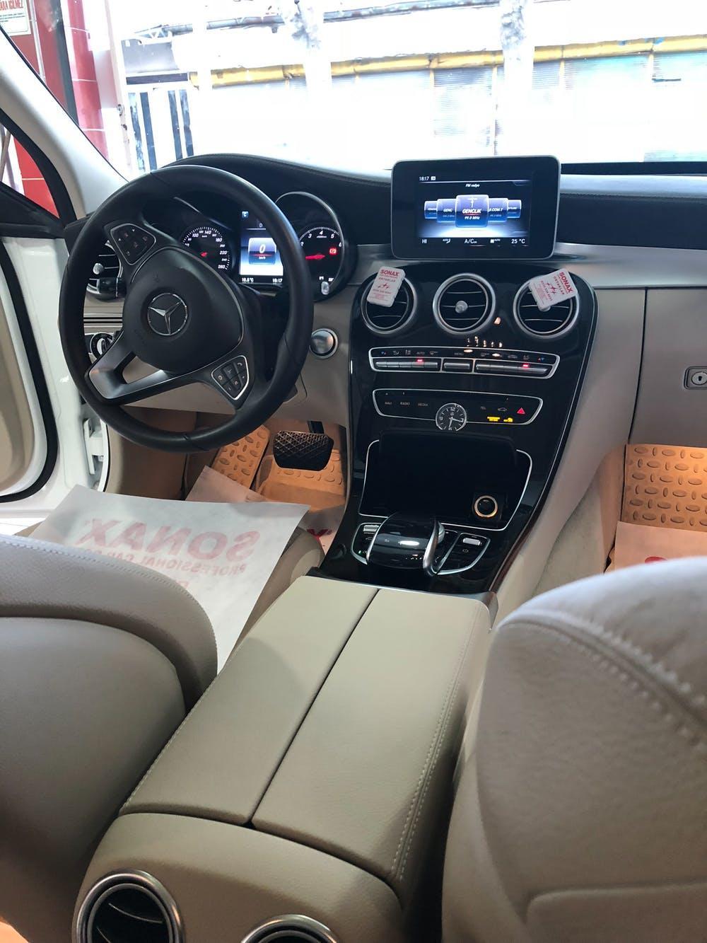 MERCEDES C 2016 Model Benzin Otomatik Vites Kiralik Araç - B343