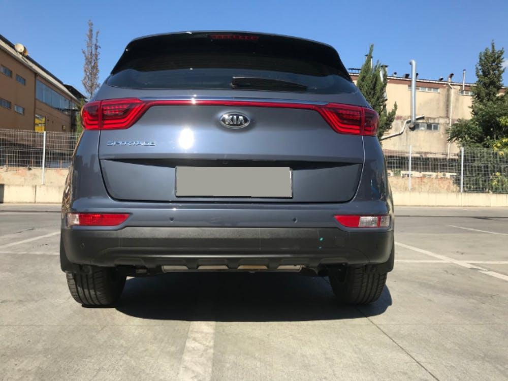 KIA Sportage 2017 Model Benzin Otomatik Vites Kiralik Araç - D59D