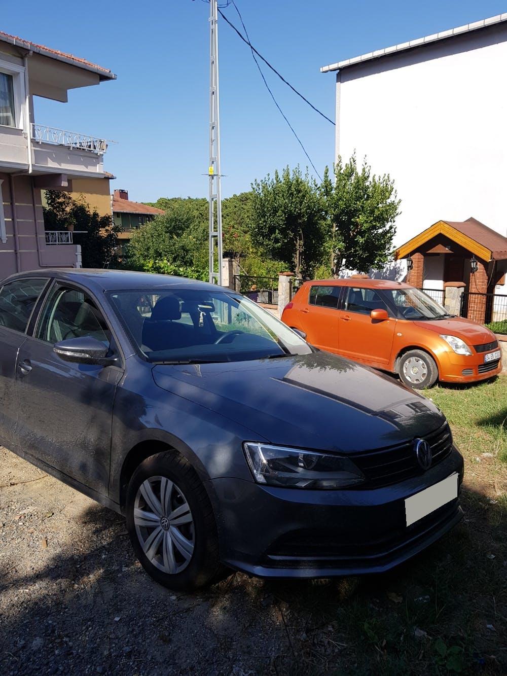 VOLKSWAGEN Jetta 2017 Model Benzin Otomatik Vites Kiralik Araç - E72D