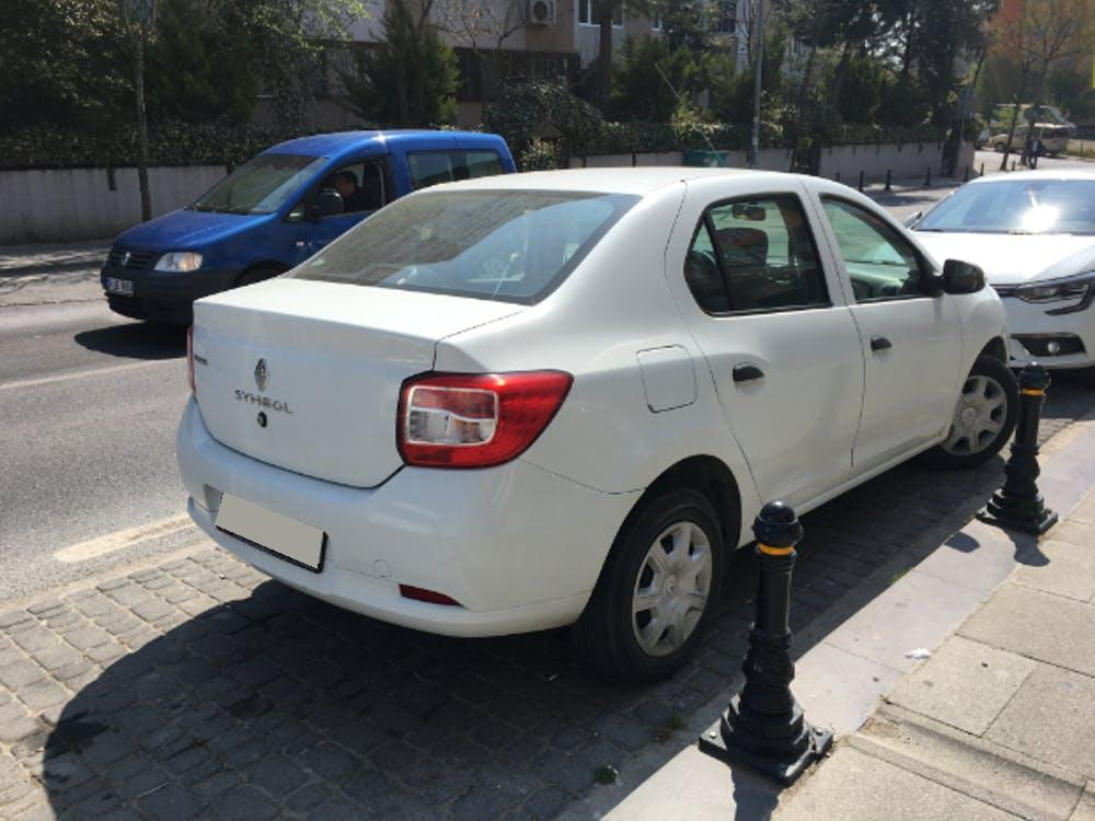 RENAULT Symbol 2016 Model Benzin Manuel Vites Kiralik Araç - 6553