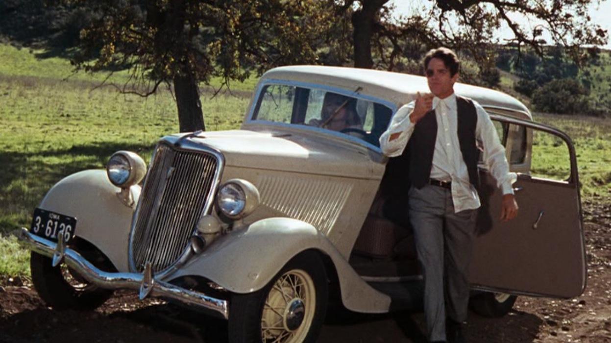 Bonnie and Clyde, 1934 Ford Sedan