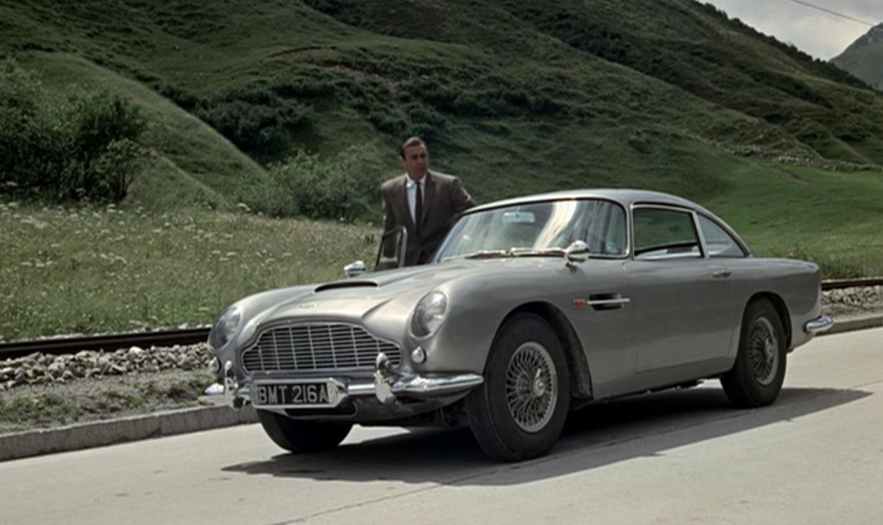 Goldfinger 1963 Aston Martin DB5
