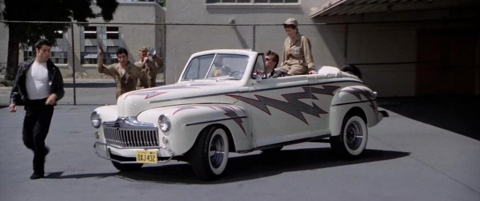 Grease, 1948 Ford De Luxe