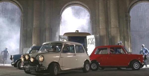 The Italian Job, 1967 Austin Mini Cooper S 1275 MkI