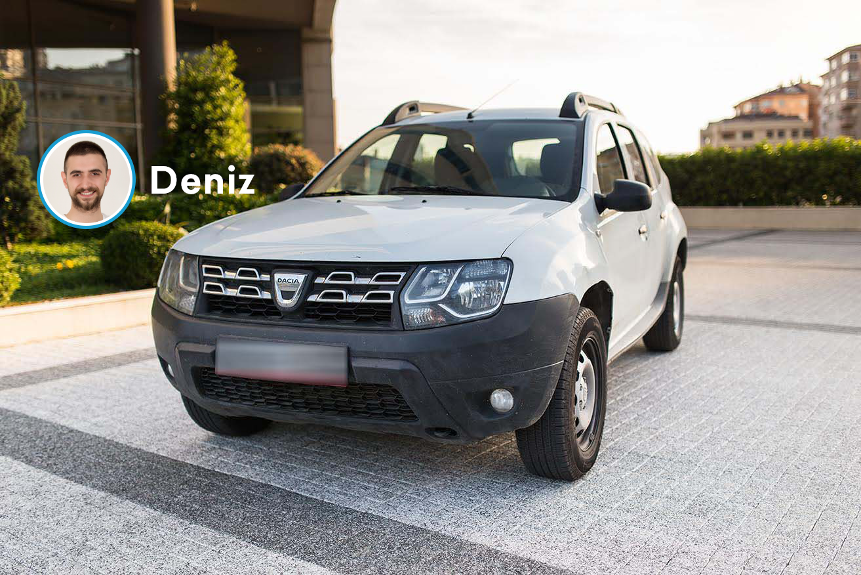 Dacia Duster, Araç Teslim Hikayeleri: Ters Yön