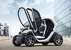 tek kişilik elektrikli araç twizy