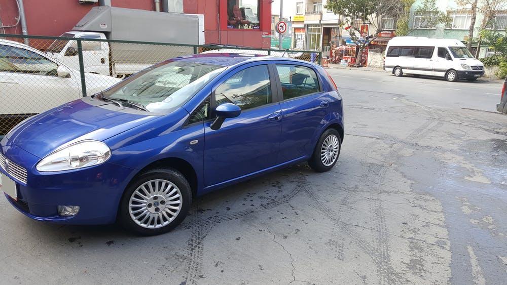 FIAT Punto 2010 Model LPG Manuel Vites Kiralik Araç - DD3F